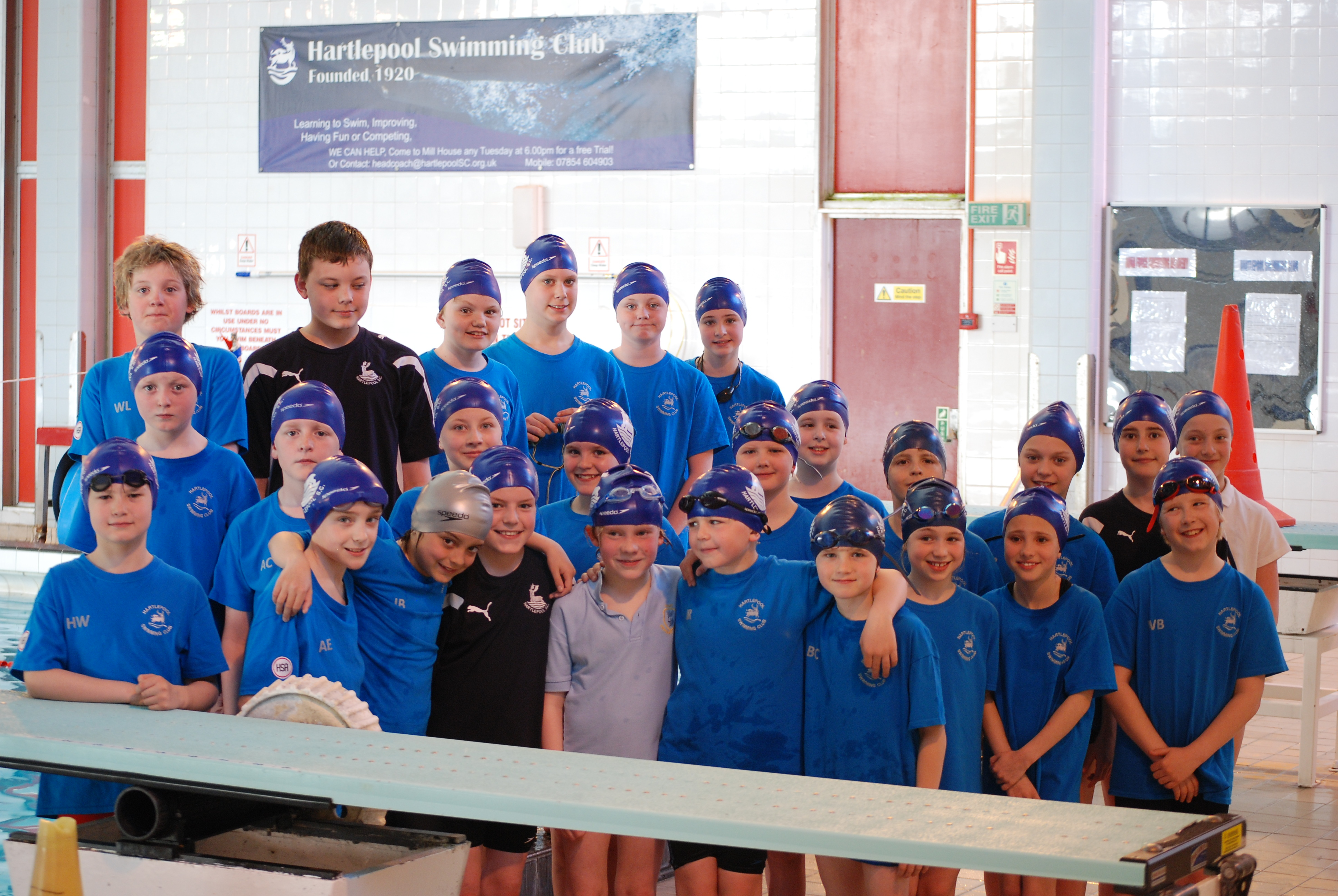 Diddy Final Winners Hartlepool Swimming Club