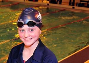 Swimmer Katie Laybourn.
